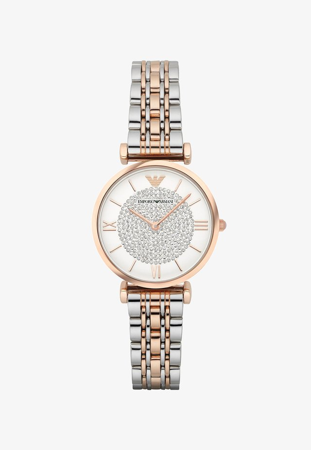 Horloge - silver-coloured/rosegold-coloured