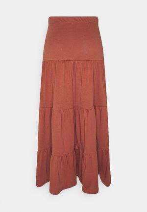 ONLMAY LIFE SKIRT - Maxi sukně - arabian spice