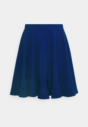 ALYSSA SKATER  - A-line skirt - electric blue