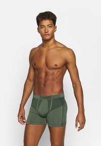 Puma - SEAMLESS ACTIVE 2 PACK - Panties - army green - 2