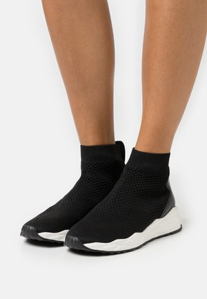 SOUND - Sneakers hoog - black