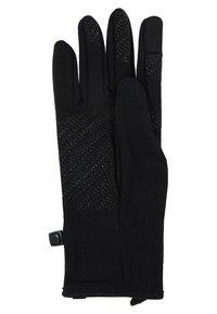 Icebreaker - ADULT QUANTUM GLOVES - Gloves - black - 4