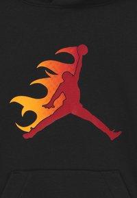 Jordan - JUMPMAN FIRE  - Mikina skapucí - black - 3