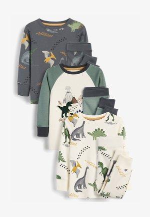 3 PACK DINO SNUGGLE  - Pyjama set - khaki