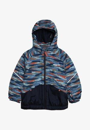 BABY SNOW PILE - Lyžařská bunda - woolly blue