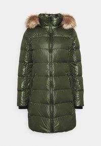 Calvin Klein - ESSENTIAL REAL COAT - Down coat - dark olive - 4