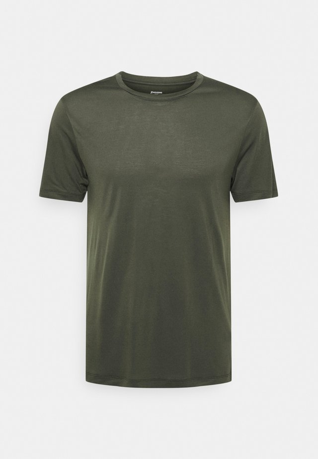 TREE TEE - T-shirt basic - olive