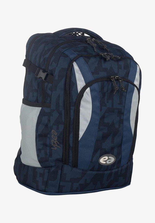 School bag - blue/black