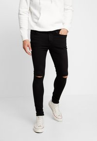 Tiffosi - HARRY - Skinny džíny - black denim - 0