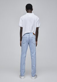 PULL&BEAR - Jeans a sigaretta - mottled light blue - 2