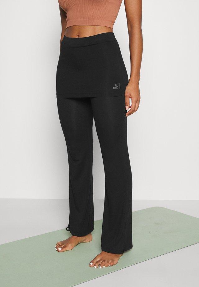 PANTS SKIRT - Pantaloni sportivi - black