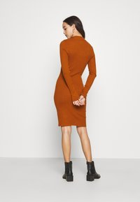 Even&Odd - Pouzdrové šaty - brown - 4