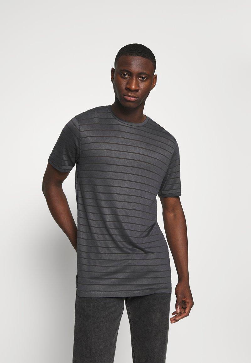 Topman - TEE - Print T-shirt - grey