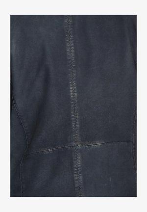 PRESCOTT - Leren jas - dark blue