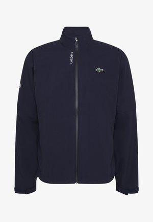 HIGH PERFORMANCE JACKET - Waterproof jacket - navy blue/white