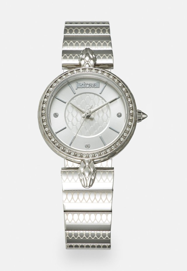 SILVER LION WATCH - Watch - silver-coloured sunray