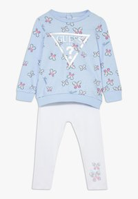 Guess - ACTIVE BABY SET - Legíny - butterfly - 0