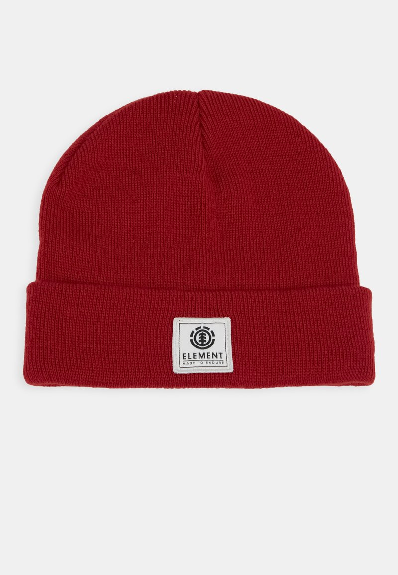 Element - DUSK BEANIE BOY - Beanie - pompeian red