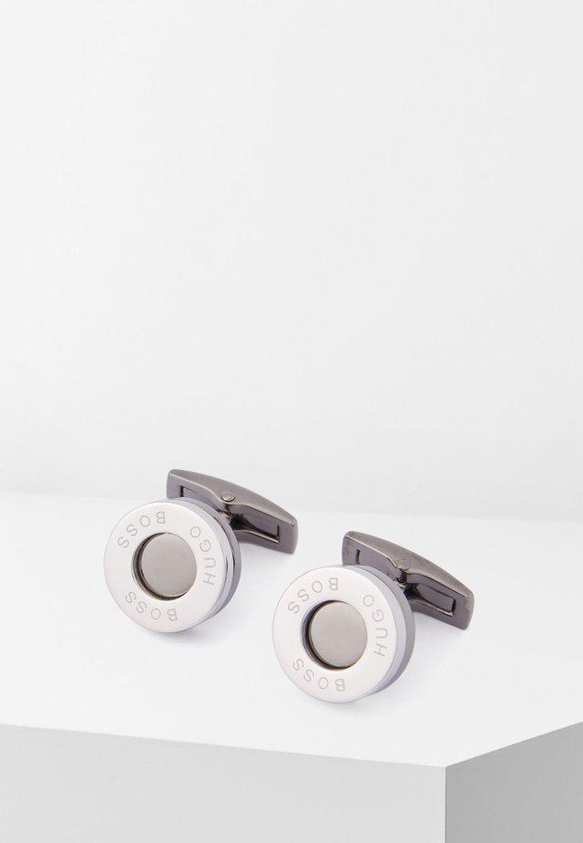 T-EDMUND - Manschettenknopf - silver