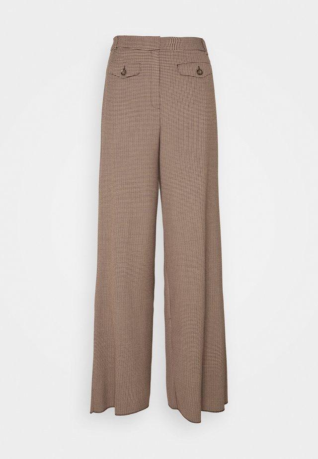 FALCONE - Trousers - cammello