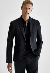 Massimo Dutti - SLIM-FIT - Suit jacket - dark blue - 0