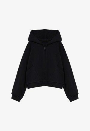 EVA - Mikina na zip - zwart