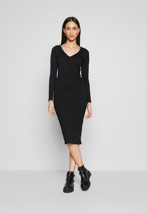PCNING DRESS TALL - Vapaa-ajan mekko - black