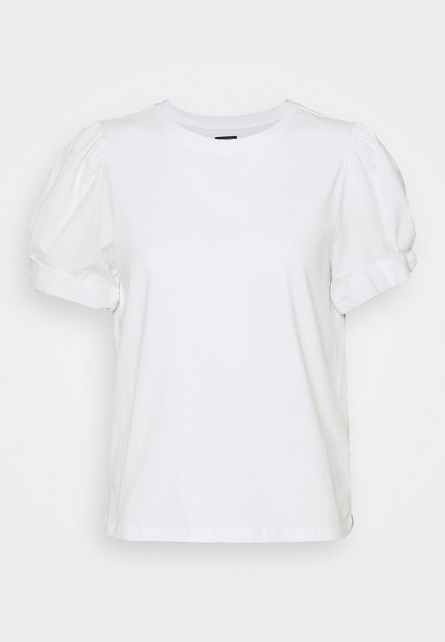 MIX PUFF - T-shirt basic - white