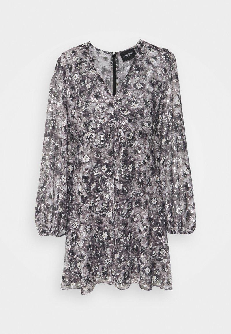 The Kooples - DRESS - Cocktail dress / Party dress - black/ecru