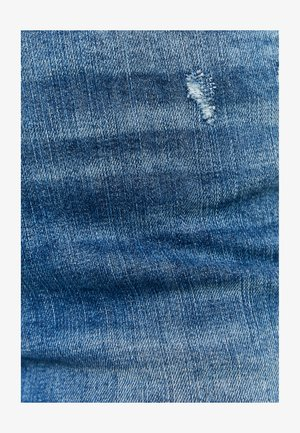 HIGH WAIST DESTROY - Jeans Skinny Fit - blu