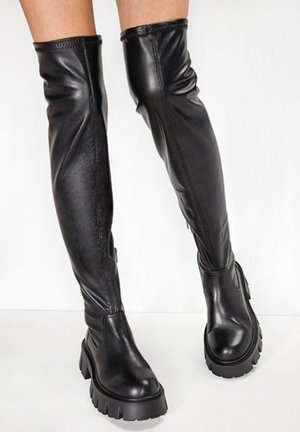 Over-the-knee boots - black blk