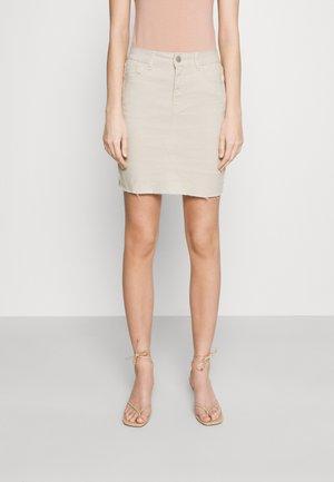 VIINES SHORT SKIRT - Mini skirt - birch