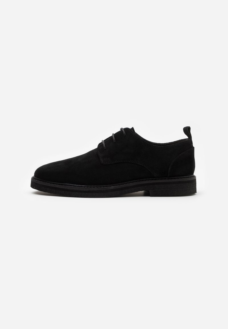 Walk London - SLICK DERBY - Smart lace-ups - black