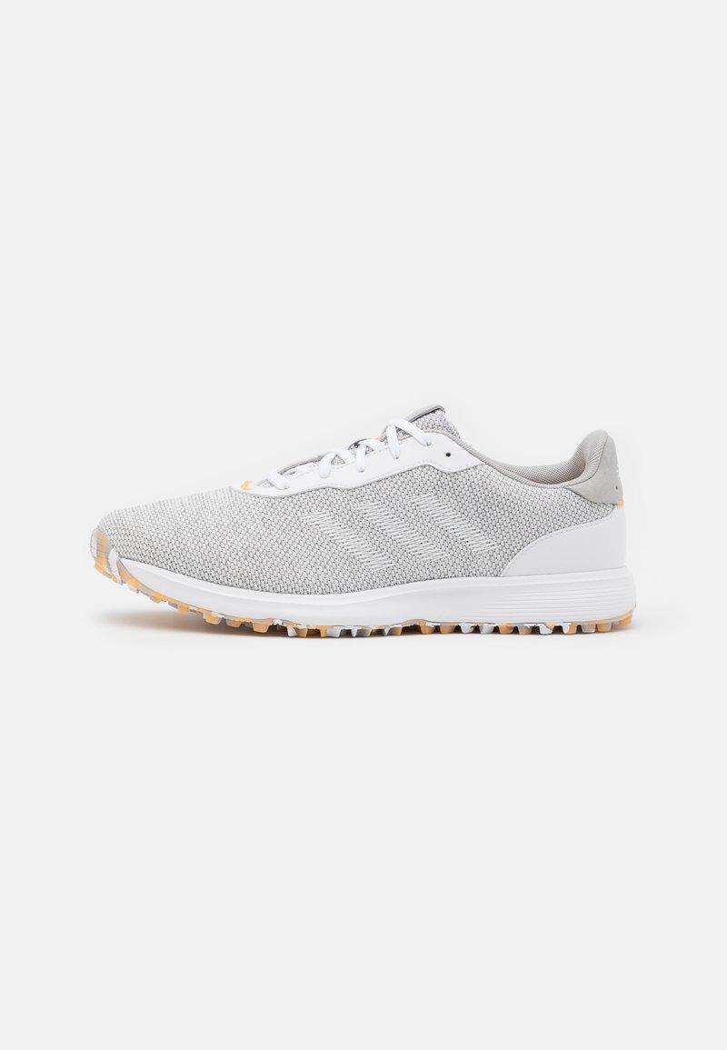adidas Golf - S2G - Golfové boty - grey three/footwear white/haze orange