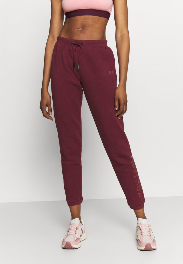 RUBY JOGGER - Pantalon de survêtement - burgundy