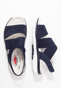 Gabor Comfort - Platform sandals - blue - 3