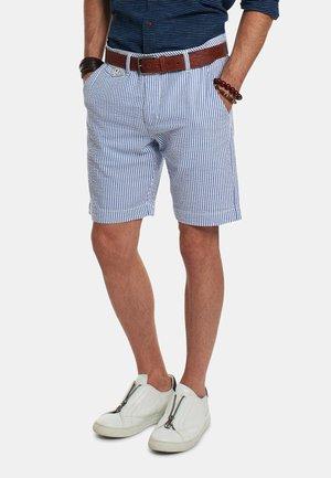 REMIRO - Shorts - off white/navy