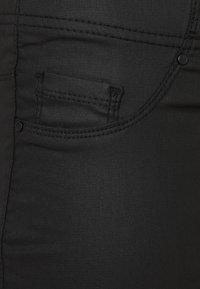 Evans - COATED - Leggings - Trousers - black - 2