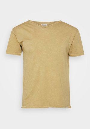 MARCEL TEE - Basic T-shirt - dull golden