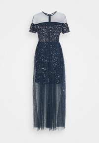 Maya Deluxe - ALL OVER EMBELLISHED MAXI DRESS WITH MINI LINING - Occasion wear - navy - 6