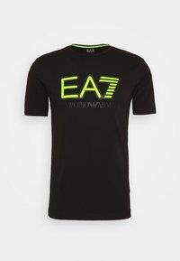 EA7 Emporio Armani - T-shirt con stampa - black - 3