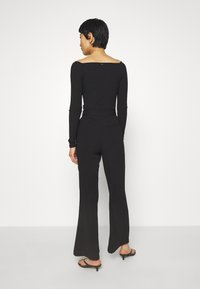 Mossman - THE FLAWLESS PANT - Trousers - black - 2