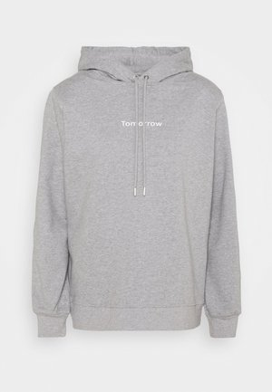 CASUAL HOODIE - Sweater - grey melange