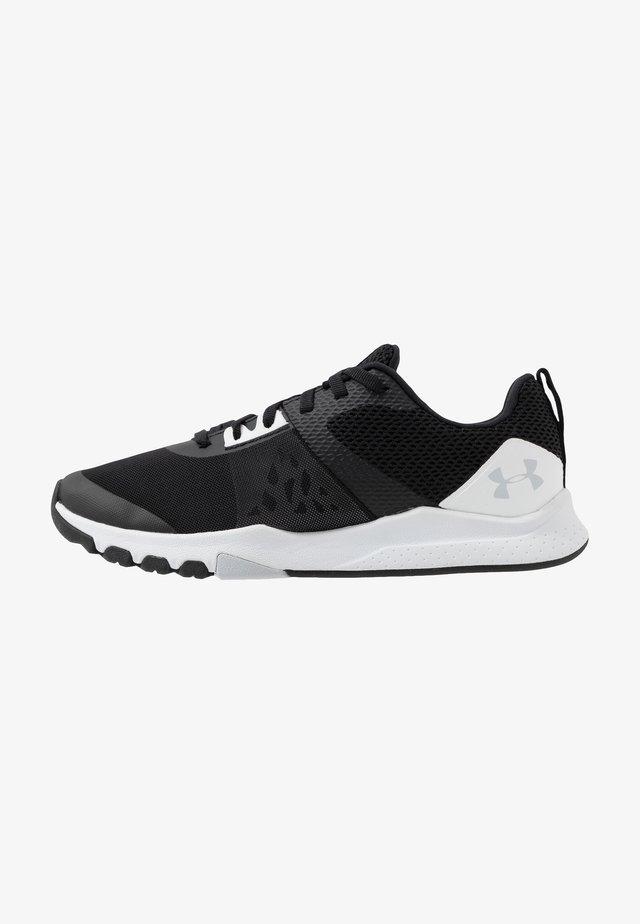 TRIBASE EDGE TRAINER - Scarpe da fitness - black/white/halo gray