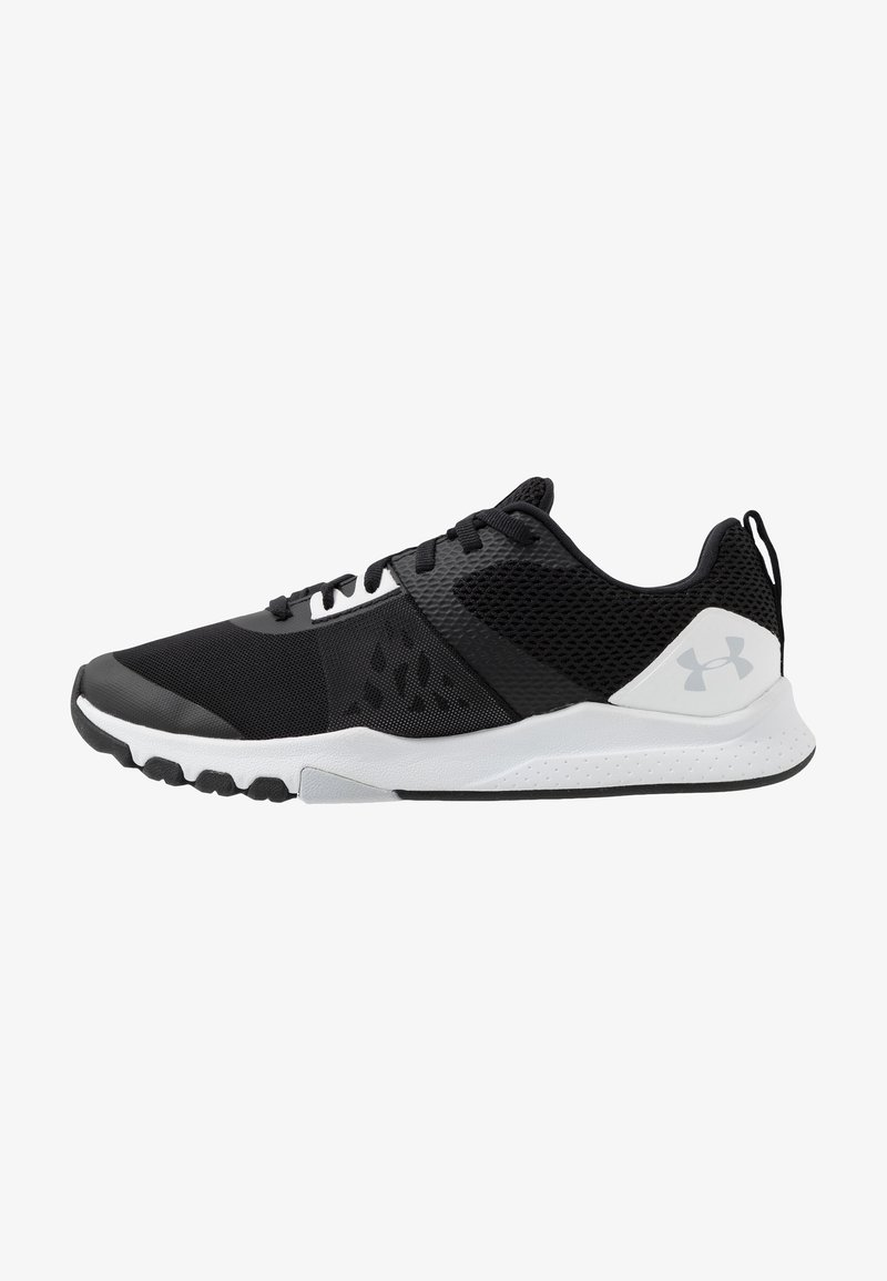 Under Armour - TRIBASE EDGE TRAINER - Obuwie treningowe - black/white/halo gray