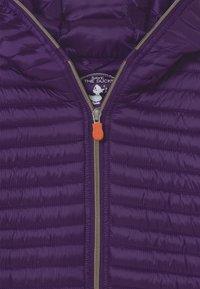 Save the duck - IRIS HOODED UNISEX - Light jacket - deep purple - 2