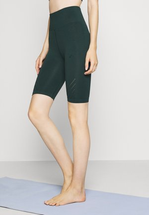ONPJAVO CIRCULAR SHORTS - Tights - darkest spruce