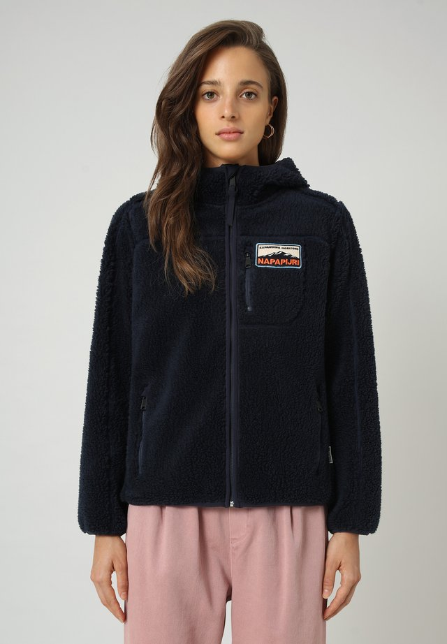 YUPIK - Fleece jacket - blu marine