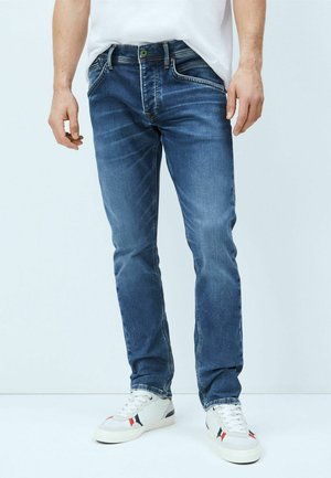 TRACK - Jeansy Slim Fit - denim