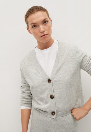 NANTY - Gilet - light heather grey